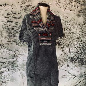 Tommy Hilfiger sweater dress XL lambs wool